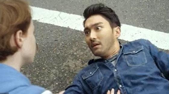 '드라마월드'의 한 장면. 최시원은 카메오로 출연합니다. /사진=넷플릭스 트위터