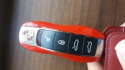 포르쉐 718 자동차키/사진=장시복 기자