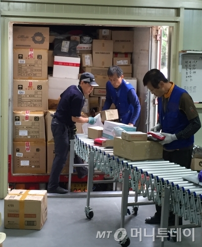 CJ대한통운을 통해서만 하루 약 700여개의 택배가 배달된다. /사진=김도영 기자