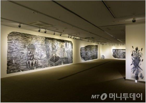윤대희의 '사소한 뿔' 전시 전경. /사진제공=윤대희