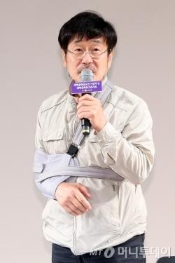 가수 겸 연기자 김창완. /사진=이기범기자<br />