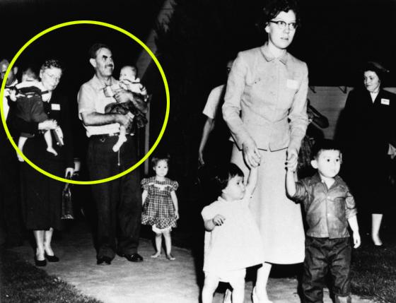 (왼쪽부터) 고(故) 버다 홀트·해리 홀트 부부가 한국 전쟁고아 8명을 입양했다. /사진=홀트아동복지회 제공
