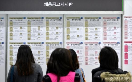 지난해 11월 열린 공공기관 채용정보박람회의 모습 /사진=뉴스1