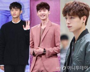 서인국·박보검·유아인…男스타가 사랑하는 헤어스타일