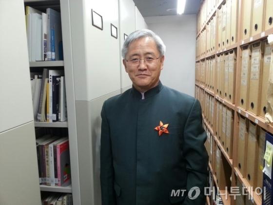 김달진 김달진미술자료박물관장. /사진=김지훈 기자