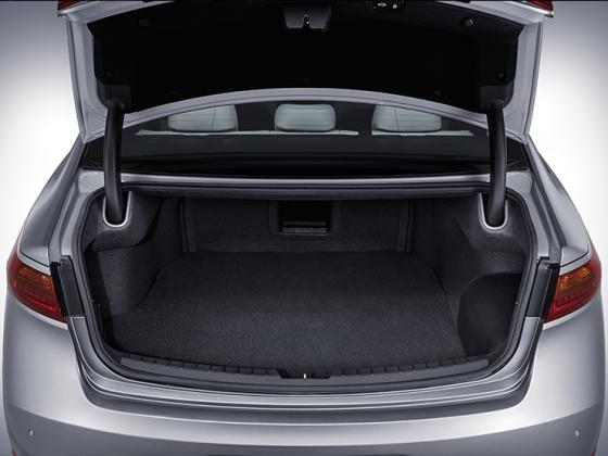 기아차 '올 뉴 K7 하이브리드' 트렁크/사진제공=기아자동차