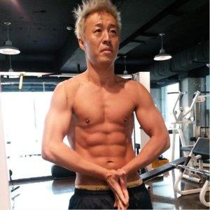 정준하, 3년 전 초콜릿 복근 공개…