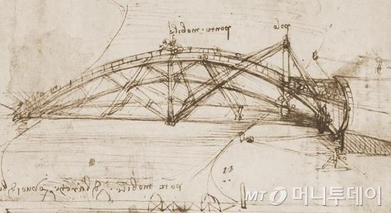 레오나르도 다빈치의 코덱스 아틀란티쿠스. /사진제공=코이안