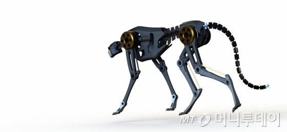 김상배 미국 메사추세츠 공과대학(MIT) 교수의 치타 로봇 콘셉트 이미지. /사진제공=코이안