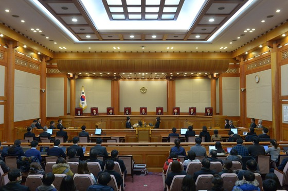 2014년 12월19일 헌법재판소는 통합진보당 해산을 결정했다. / 사진=뉴스1