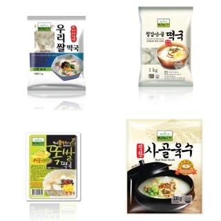 칠갑농산, 농협 롯데마트 이마트에브리데이 떡국떡 최대 30% 할인