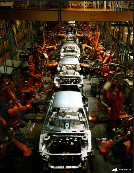 현대자동차 생산모습./사진=한국민족문화대백과