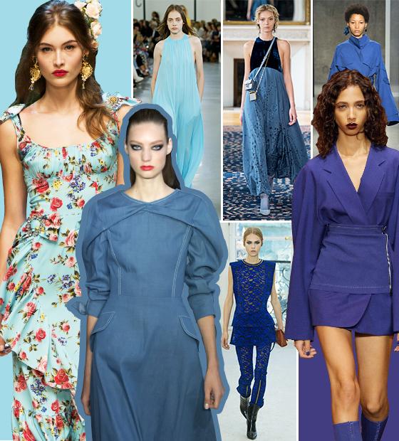 /사진=Dolce&Gabbana,Emilio Pucci, Valentino, Marni, DKNY, Louis Vuitton, Carolinam Herrera (시계방향)