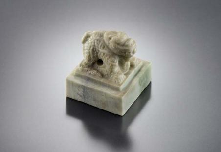 보물 제1618-2호 '국새 황제지보(國璽 皇帝之寶)'. /사진제공=문화재청