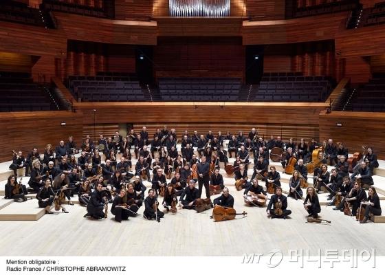 세계 최정상 오케스트라인 라디오프랑스필하모닉 오케스트라는 오는 5월 세종문화회관 대극장에서 첫 내한공연을 연다. /사진제공=세종문화회관