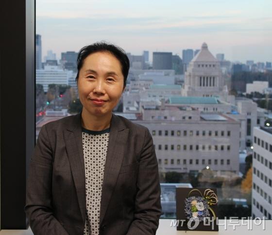 토모코 하야시 일본 내각부 경제분석 및 정책평가 심의관/사진=박경담 기자
