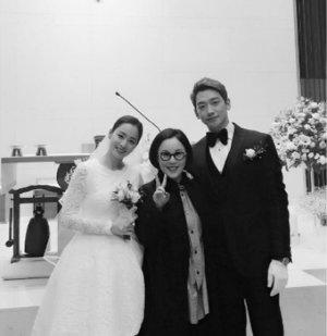 비♥김태희 결혼식 인증샷…정샘물