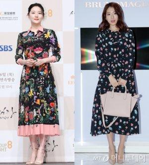 이영애 vs 박신혜, '플로럴 롱원피스' 패션…누가 더 예뻐?