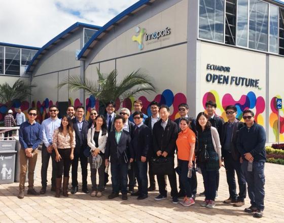 순천향대, 국내 유일 에콰도르에 창업노하우 전수