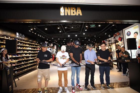 중국 NBA 매장/사진제공=엠케이트렌드