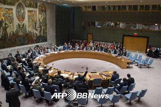 유엔 안보리/사진=AFP
