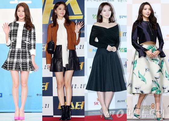 왼쪽부터 공승연, 소녀시대 윤아, 천우희, 오윤아 /사진=뉴스1, 머니투데이DB