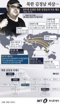 [그래픽뉴스] '황태자에서 떠돌이로'…피살 김정남 행적과 가계도