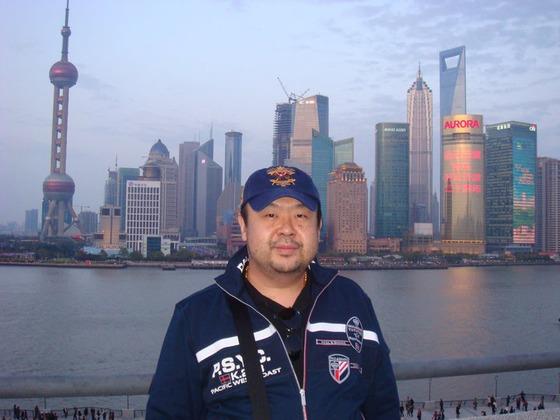 김정남이 2010년 6월 자신의 페이스북에 올린 사진/사진=김정남 페이스북