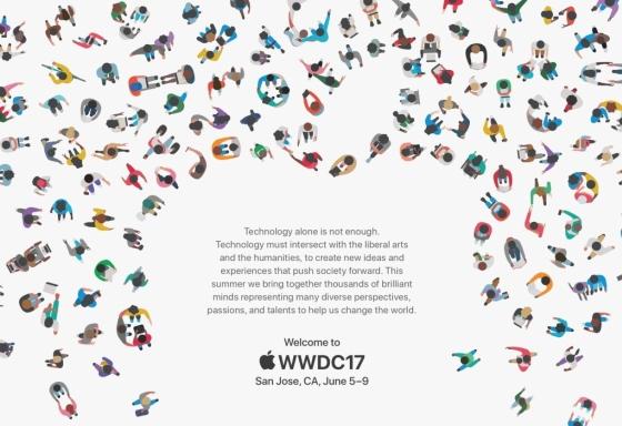 애플 홈페이지에 공개된 'WWDC 2017' 초대장 /사진=애플홈페이지 캡처