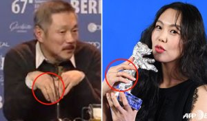 '반지' 낀 김민희·홍상수, 커플링 맞다? 아니다? 논란