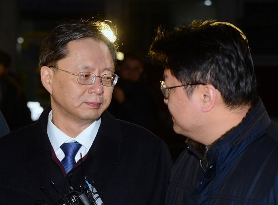 22일 구속영장이 기각된 우병우 전 민정수석 /사진=뉴스1