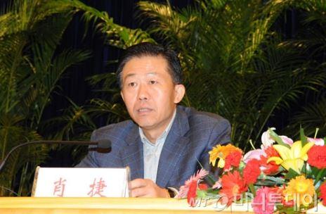 샤오제 중국 재정부장 / 사진=중국 재정부