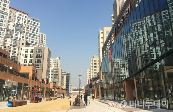 서울시 송파구 장지동 위례 아이파크2차 상업시설/사진=배규민