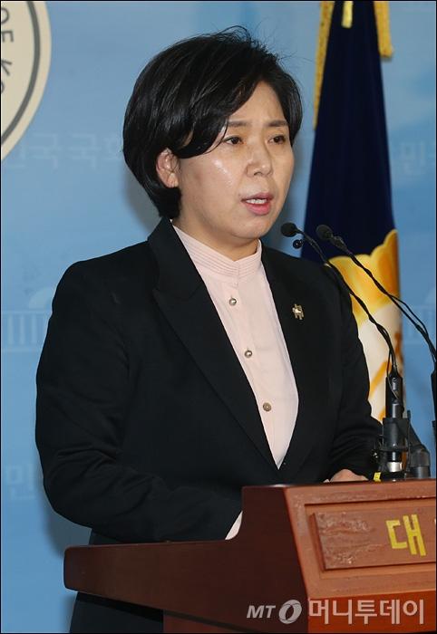 [사진]'반올림 폄하' 양향자 최고위원 사과문 발표