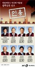[그래픽뉴스]헌법재판소, 박근혜 대통령 탄핵 8대0 인용