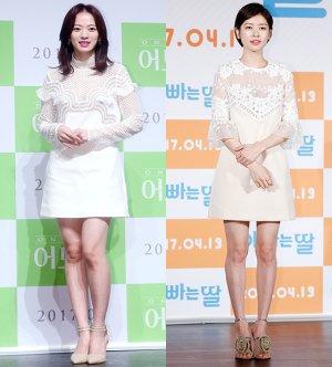 천우희 vs 정소민, '화이트 미니원피스' 패션…승자는?