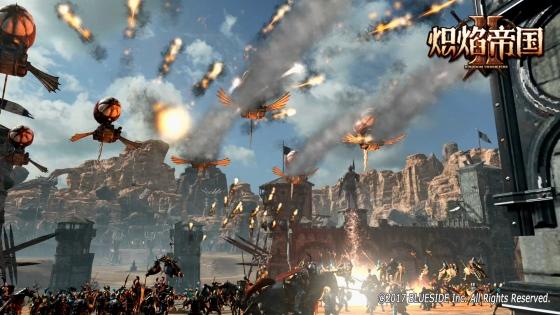 '킹덤언더파이어2' 게임 이미지. /사진제공=블루사이드.