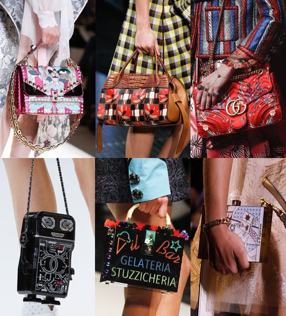 /사진=펜디, 프라다, 구찌, 샤넬, 돌체 앤 가바나, 디올 2017 S/S 컬렉션