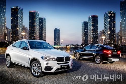 X4와 X6 SAC 에디션/사진제공=BMW 코리아
