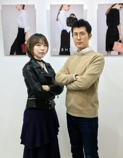 김현희 디자인 수석(좌), 조대영 대표(우)/사진제공=마르헨제이(Marhen.J)