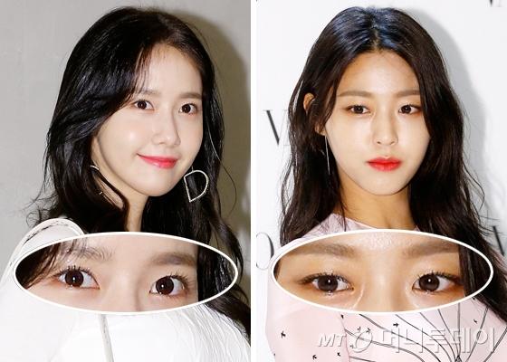 소녀시대 윤아, AOA 설현 /사진=머니투데이DB