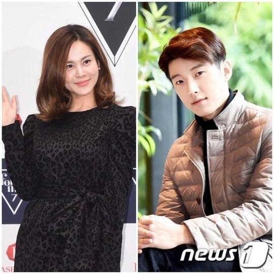 가수 아이비(왼쪽)와 뮤지컬 배우 고은성. / 사진=뉴스1