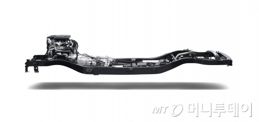 쌍용차 'Y400'의 쿼드프레임/사진제공=쌍용자동차