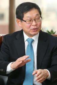김용근 자동차산업협회장/사진=이기범 기자