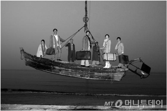 중국의 비디오아티스트 양푸둥의 작품 '죽림칠현 IV' /사진제공=국립현대미술관