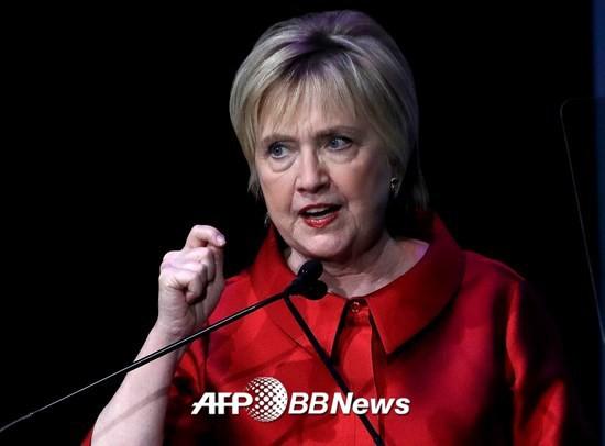 힐러리 클린턴 전 미국 국무장관/AFPBBNews=뉴스1