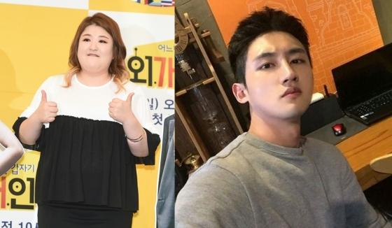 개그우먼 이국주와 배우 온시우/사진=뉴스1, OSEN