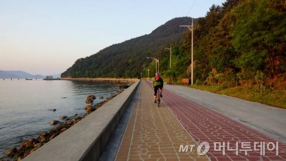 아름다운 자전거 여행길 코스<br>통영자전거길