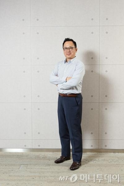 위디아팀장을 맡고 있는 김상현 상무. /사진제공=GS칼텍스.