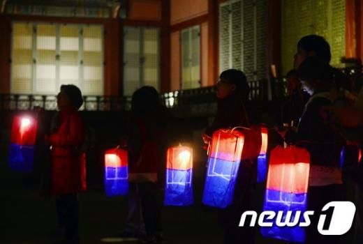 [사진]'경복궁 별빛야행'